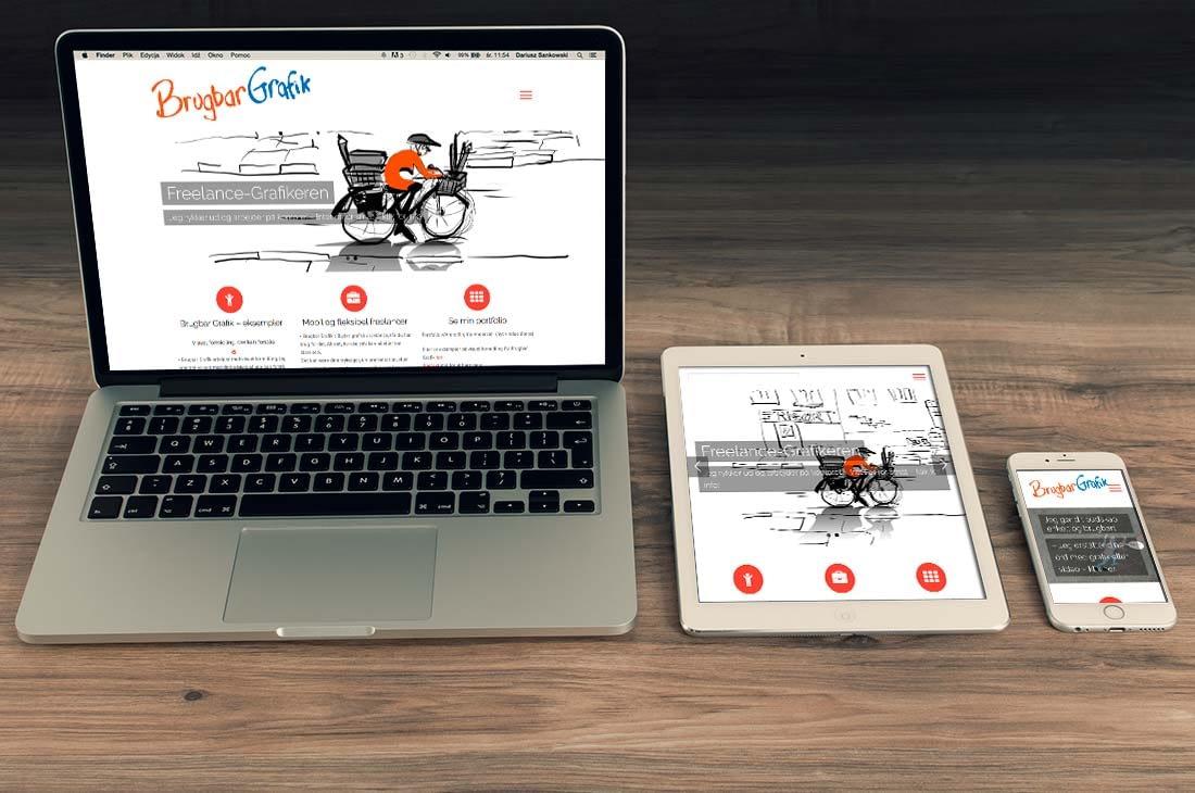Brugbar Grafik webdesign