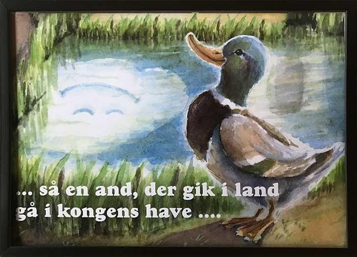 Så en and, der gik i land, gå i Kongens Have