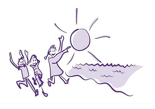 Skolestart – illustrationer til brugerrejser